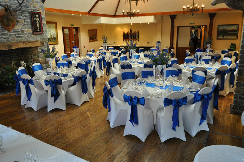 about chair covers and bows